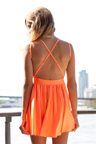 Shop Fashion Avenue - Sherbet Orange
