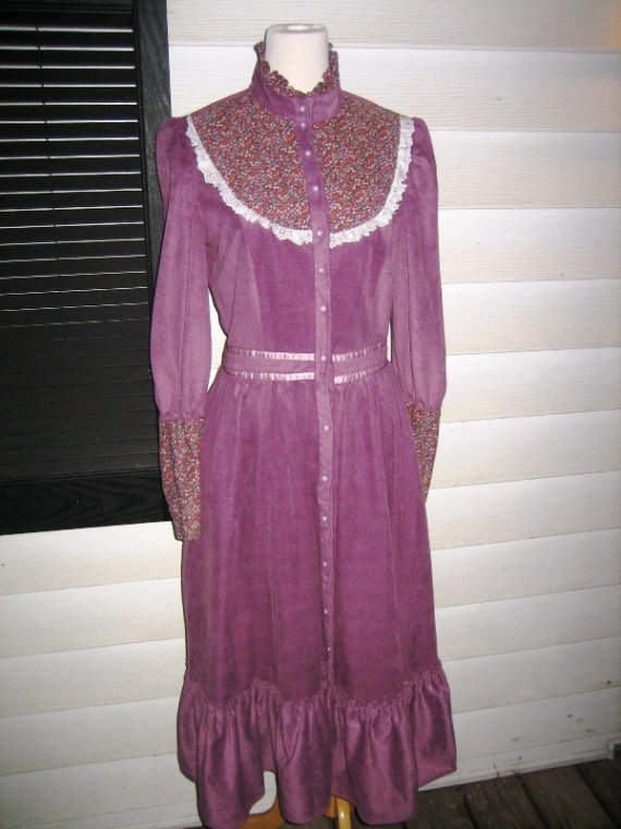 Reduced price violet  love boho   prairie folk by myrtledovelove