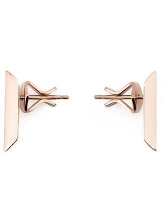 earrings stud earrings purple pink jewels