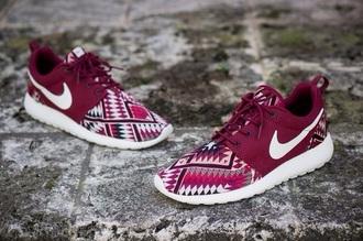 shoes nike tribal pattern aztec