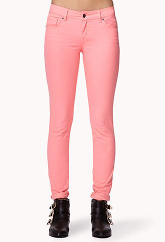 Soft Skinny Jeans | FOREVER21 - 2027682079
