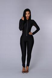 jumpsuit,black jumpsuit,mesh,fitted mesh jumpsuit,sexy jumpsuit