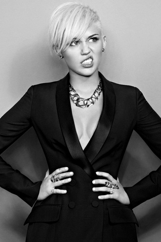 jacket miley cyrus blazer jewels