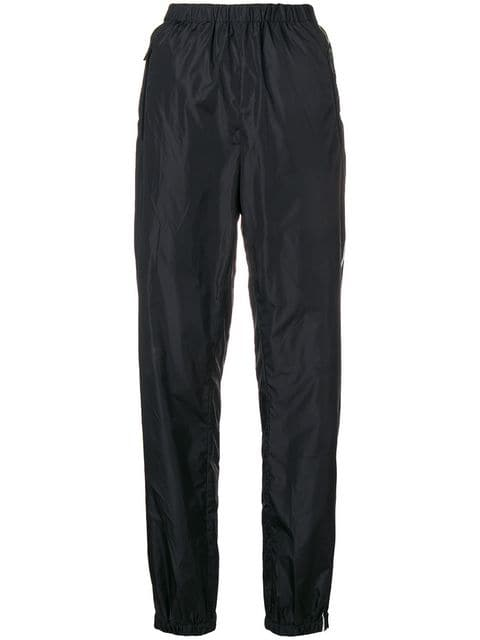 Prada Logo Side Stripe Track Pants - Farfetch