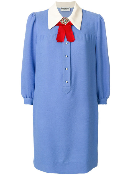 ESSENTIEL ANTWERP dress women blue