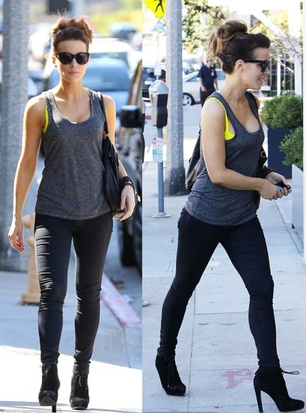 top shoes jeans kate beckinsale sunglasses
