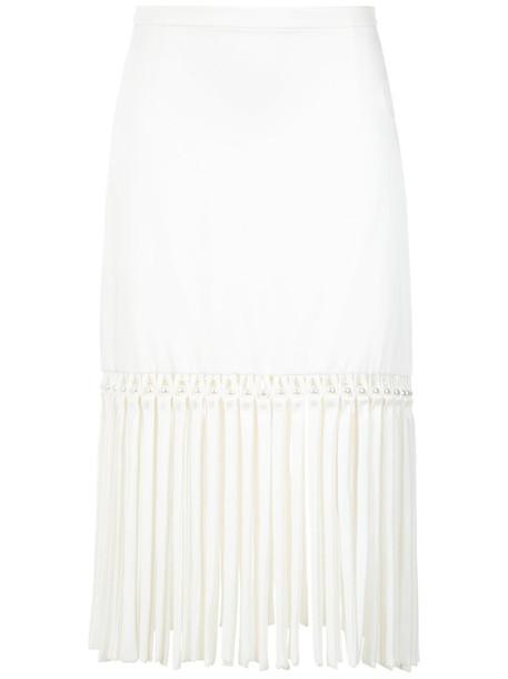 Reinaldo Lourenço skirt midi skirt women midi