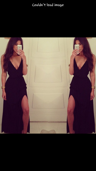 dress little black dress little black dress black maxi dress deep v
