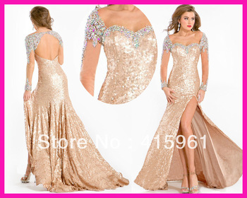 Aliexpress.com : Buy Sexy Black Beaded One Shoulder Backless Mermaid Formal Long Evening Dress Gowns E5249 from Reliable dress barbies suppliers on I Do Wedding Dress Store