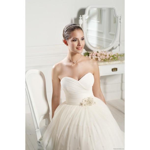 dress, pretty, high-low dresses, brenda asnicar, vestidos de novia
