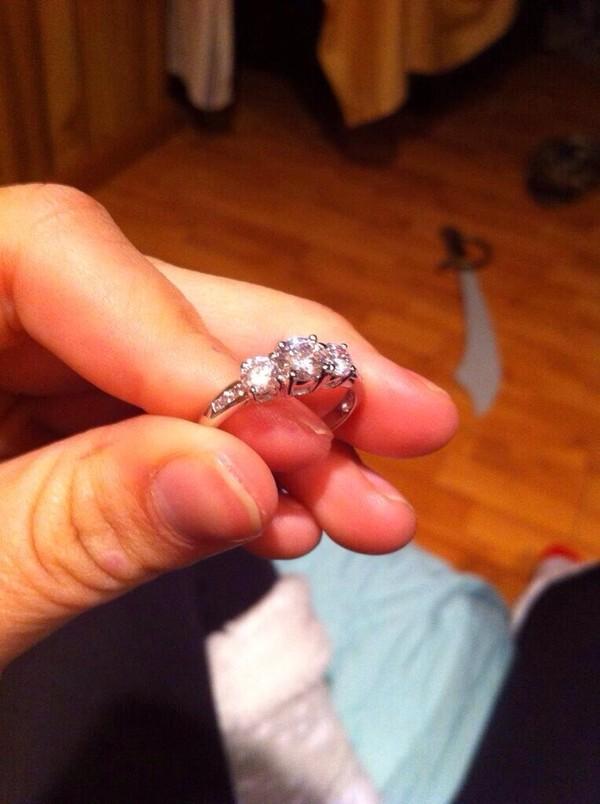 jewels ring promise ring the bling ring ring silver ring diamonds bracelets engagement ring wedding platinum white gold zirconia for