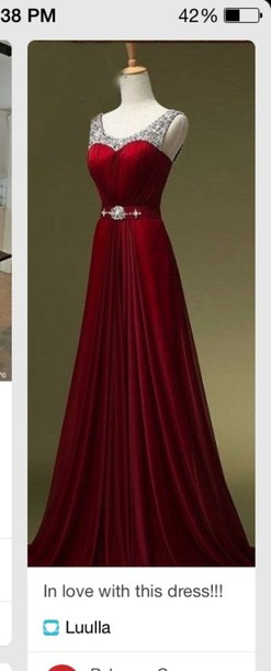 Ruby Red Dresses for Women