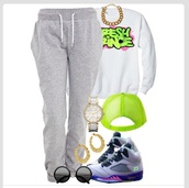 sweater,jeans,jewels,hat,belt,shirt,fresh prince