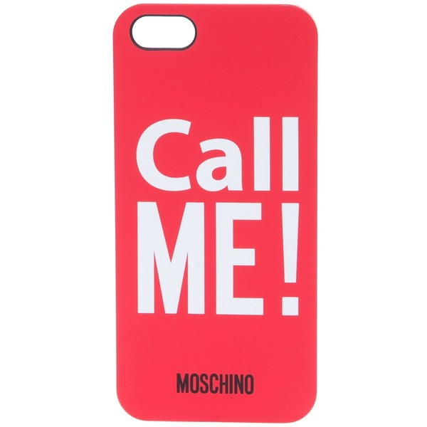 MOSCHINO 'Call Me' iPhone 5 case - Polyvore