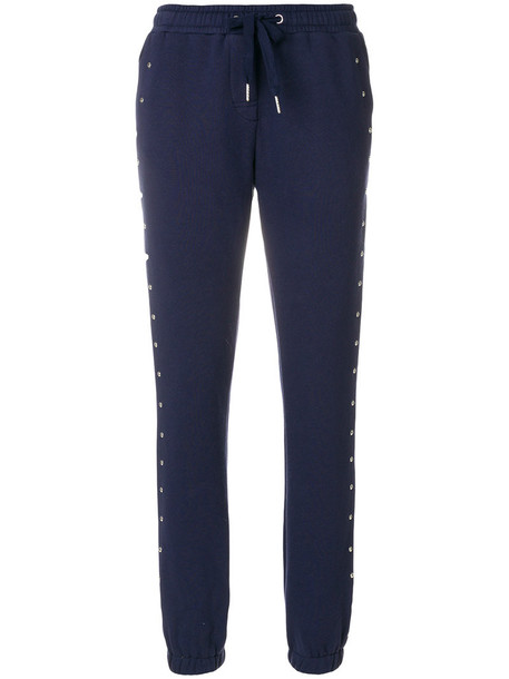 Zoe Karssen women cotton blue pants