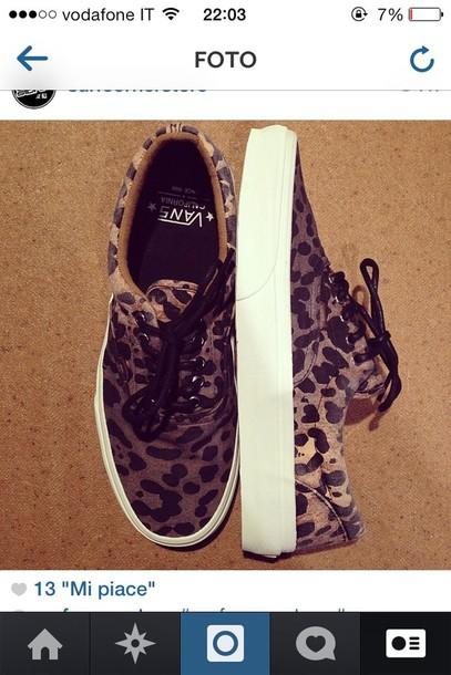 shoes vans leopard print leopard vans california