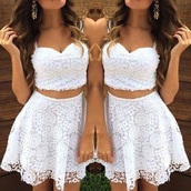 skirt,white,cute,floral,print,spring,pretty,top,shirt,white dress,white crop tops,white top,cute top,cute dress,high waisted skirt,dress,lace dress,white lace dress,crop tops,lace skirt,little white dress,cute white crop top,lace top,white lace skirt,two piece dress set,lace,white lace,white skirt,white lace top,country style,summer outfits,summer,country,beautiful,tumblr,tumblr outfit,pinterest,pinterest outfit,pinterest skirt,summer skirt,summer top,lace crop top,lace bustier top,mini skirt,love,perfect outfit,stylish,cream,summer lace skirt,off-white,perfect,sleeveless top,spaghetti strap,spaghetti strap top,top and skirt,top and skirt outfit,rose wholesale,boho,girly,beach,beach dress,boho dress,strapless