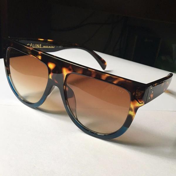 Flat Top Aviator Shadow Sunglasses