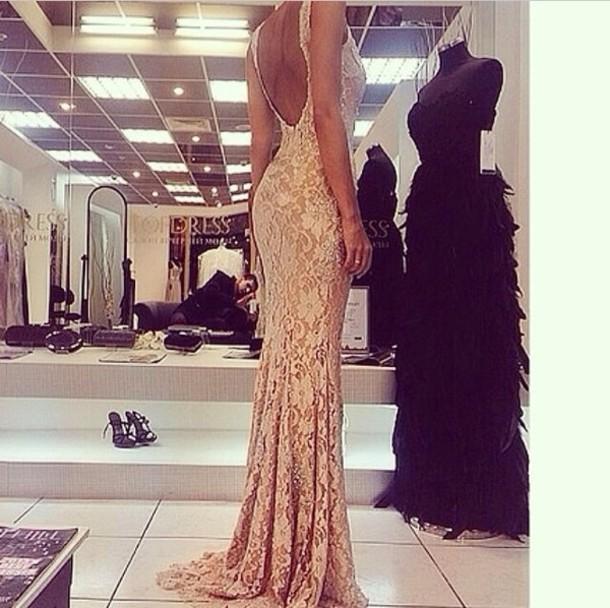 dress maxi dress prom dress lace dress long dress prom gown