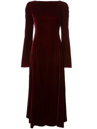 dress maxi dress maxi back women lace cotton red