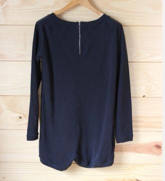 jumpsuit cos blue jumpsuit black playsuit