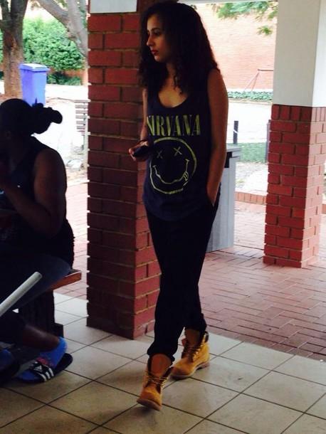 pants beautiful swag swag tumblr girl sexy black shoes shirt