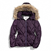 Coach :: SHORT LEGACY PUFFER JACKET