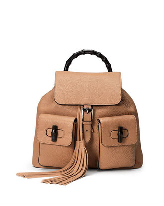 bag gucci backpack leather backpack