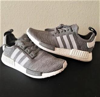 shoes adidas nmd grey adidas sneakers adidas
