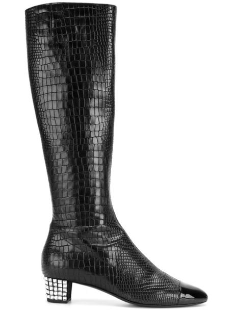women pretty leather black shoes