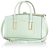 bag,mint,light green,light green bag,river island,river island bag,handbag,pastel bag