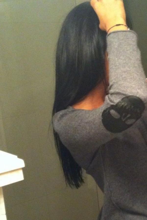 Девушки брюнетки в домашних условиях без лица