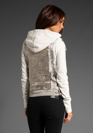 Citizens Of Humanity Hesher Studded Jacket in Flash