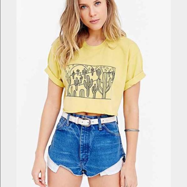 shirt girl girly girly wishlist cropped crop crop tops yellow top