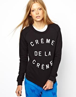 Zoe Karssen | Zoe Karssen Creme De La Creme Sweatshirt at ASOS