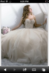dress,prom dress,champagne,wedding gown,quinceanera dress,white,i need this help