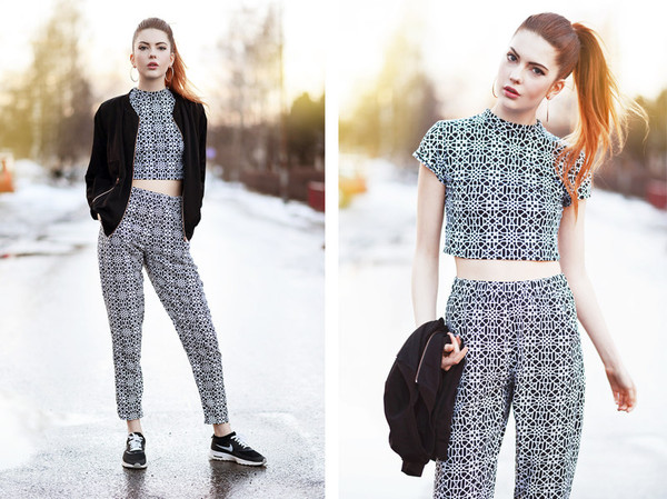 ebba zingmark t-shirt pants shoes jacket jewels