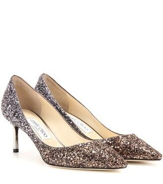 glitter pumps metallic shoes