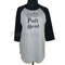 Pott head shirt harry potter raglan sleeve **3/4 sleeve shirt **big size plus size men women sweatshirts **teen clothing size s m l xl 2xl