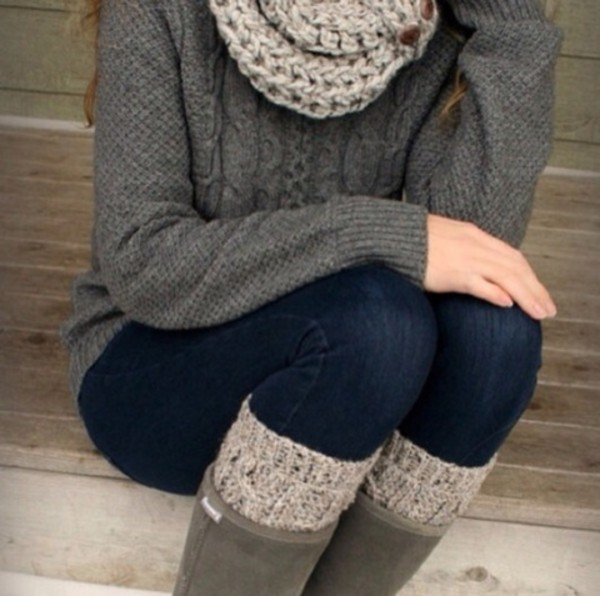 sweater knitted sweater gray long sleeve comfysweater