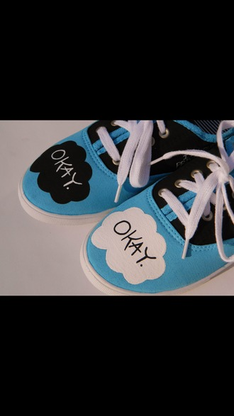 shoes vans okay? okay. tfios tfios shoes the fault in our stars