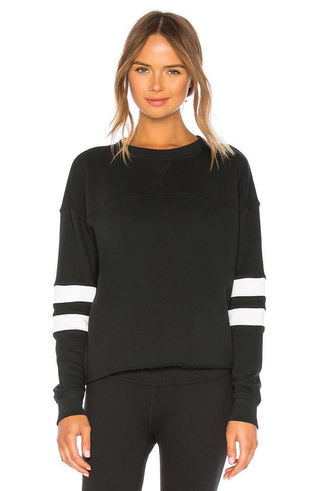 YEAR OF OURS Varsity Sweatshirt in black