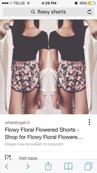 shorts flowy summer girly