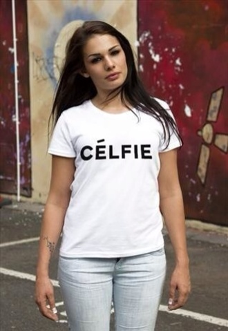 t-shirt celfie tee