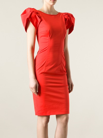 Dsquared2 Sculpted Shoulder Dress - Nike - Via Verdi - Farfetch.com