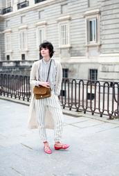 che cosa,blogger,pants,cardigan,bag