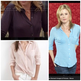 blouse claire dunphy button down shirt dressy tops classy