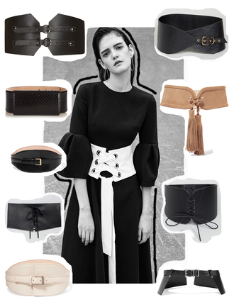 viennawedekind blogger belt waist belt black belt leather belt