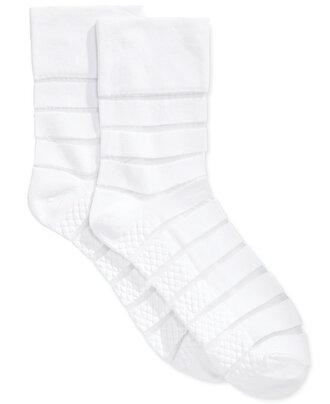 socks white socks mesh