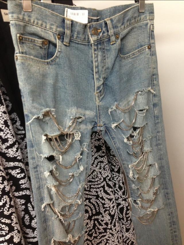 Embellished skinny jeans – glamzelle
